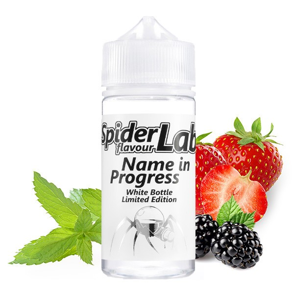 Name in Progress Aroma White Bottle Limited Edition - SpiderLab