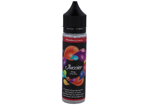 Strawberry Laces E-Liquid - Juccier E-Liquids