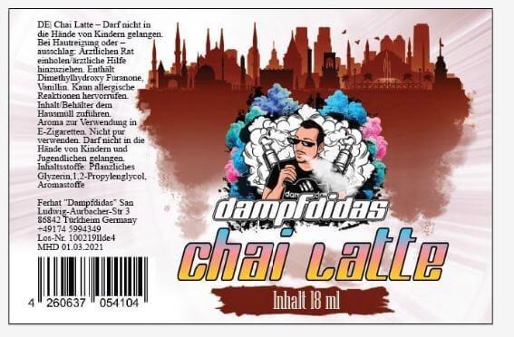 Chai Latte Aroma - Dampfdidas