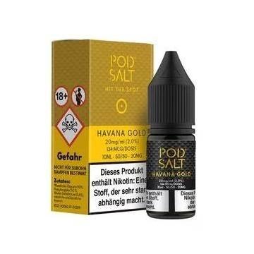 Havanna Gold - Pod Salt