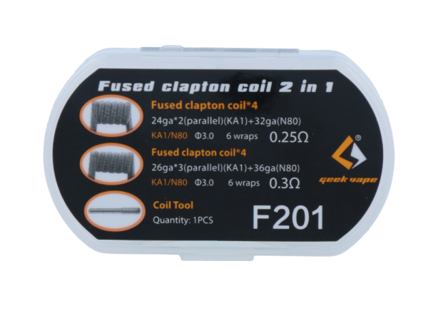 GeekVape Fused Clapton Coil 2 in 1 Set